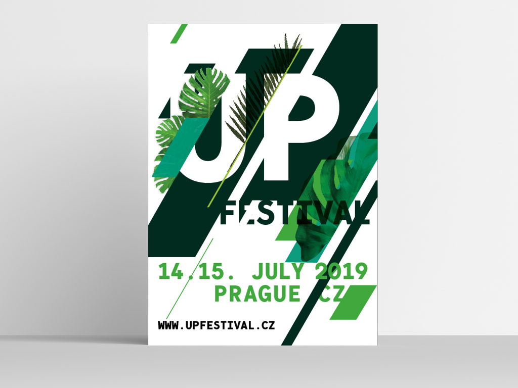 Up Festival Poster